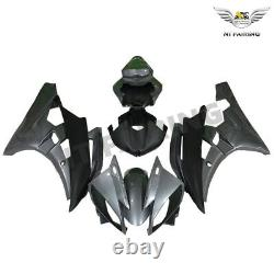 MSA Injection Grey Mold Fairing ABS Plastic Fit for Yamaha 2006 2007 YZF R6 f060