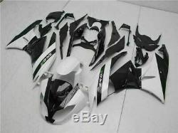 MSA Injection Mold Fairing Kit Fit for Kawasaki 2009-2012 ZX6R ZX-6R Plastic n0t
