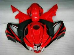 MSA Injection Mold Red Fairing Fit for Honda 2007-2008 CBR600RR Plastic l003c