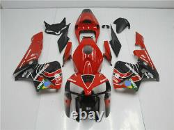 MSB Injection Mold Red Plastic Fairing Fit for Honda 2005-2006 CBR 600RR b072