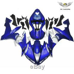 MS Blue Injection Mold Plastic Fairing Kit Fit for Yamaha YZF R1 2004-2006 t077
