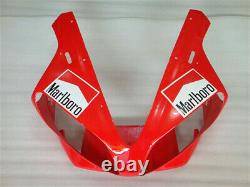 MS Fit for Yamaha 2000 2001 YZF R1 Red White Injection Mold Plastic Fairing r08