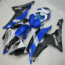 MS Injection Mold Blue Black Plastic Fairing Fit for 2018-2016 YZF R6 YAMAHA r03