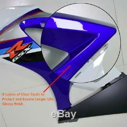 MS Red FIAT Injection Mold Plastic Fairing Fit for Yamaha YZF R1 2004-2006 k078