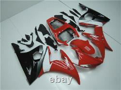 MS Red White Injection Mold Plastic Fairing Fit for Yamaha 2003-2005 YZF R6 i042