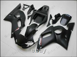 Matten Black Injection Mold Fairing Fit for Yamaha 1998-2002 YZF R6 ABS Plastics