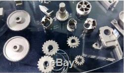 Metal casting injection molding in Titanium and Stainless Steel, Plastic