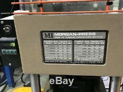 Morgan Press G-55t 20-ton Plastic Injection Molding Machine 120v 1200w