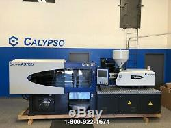 NEW 2019 155 Ton 8.82 oz Calypso AX155 Plastic Injection Molding Machine IMM