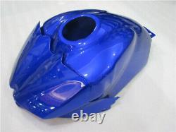 NTU Injection Mold Fairing Kit Fit for Yamaha 2007-2008 YZF R1 Blue Plastic k026