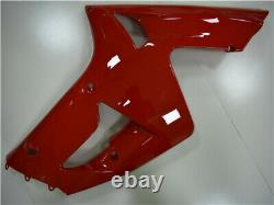 NTU Plastic Red Injection Mold Fairing Fit for Kawasaki 2003 2004 ZX6R 636 a012