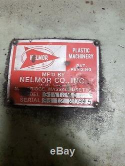 Nelmor 14 X 16 G1416M1 Plastic Granulator Injection Molding #02EPC