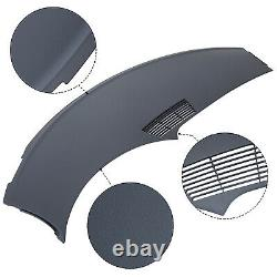 New Gray For 1993-1996 Camaro Upper Dash Pad Cover ABS Injection Molding