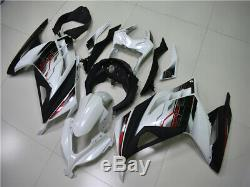 New Injection Mold White Fairing Fit for Kawasaki 2013-2017 EX300 Plastic h012