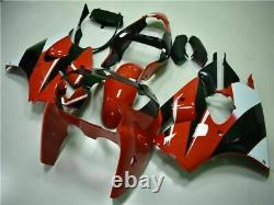 New Red Injection Mold Plastic Fairing Fit for Kawasaki 2000 2001 2002 ZX6R h017