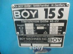 Nice Clean Boy Model 15s Plastic Injection Molding Machine / Highest Quality