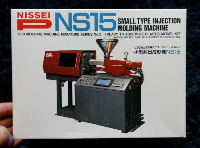 Nissei Ns15 Small Type Injection Molding Machine Plastic Miniature