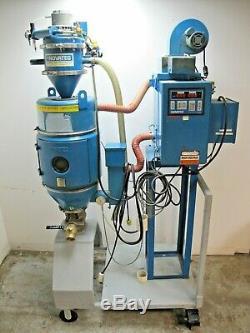Novatec 100 lb Hopper Panel Air Dryer VL-4 Plastic Injection Molding MCD-2001