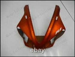 Orange Black Injection Mold Fairing Fit for Yamaha 2000-2001 YZF R1 ABS Plastics