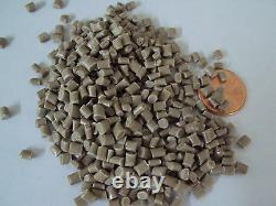 PC-ABS Virgin Plastic Pellets Brown Resin Material 50 Lbs Injection Molding