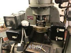 PLASTIC INJECTION MOLDING MACHINE Simplomatic Mfg PRO-63 220V 875 Watts 700 deg