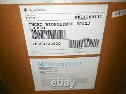 PLA 3052D Polylactic Acid Natural Plastic Pellets Injection Molding 2200 lbs