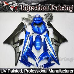 Painted Blue Fairing Kit For Yamaha YZF R6 2006 2007 ABS Plastic Injection Mold