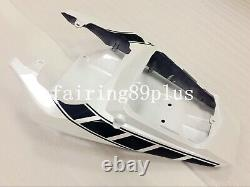 Pearl White Black ABS Plastic Injection Mold Fairing Kit Fit for 2005 YZF R6