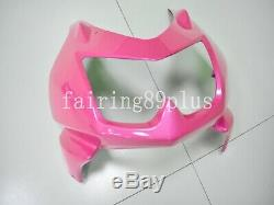 Pink White ABS Plastic Injection Mold Fairing Kit Fit for Ninja 250R 2008-2012