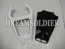 Plastic Fit for YAMAHA 2003-2005 YZF R6 Glossy White Injection Mold Fairing b08