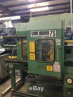 Plastic Injection Molding Machine 75 Ton Van Dorn