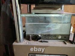 Plastic Injection Molding Machine, big area small footprint Morgan Press