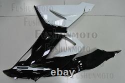Plastic White Black Injection Mold Fairing Fit for ZX6R 2013 2014 2015 2016 2017