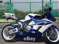 Plastics Blue White Fairing for Honda 2004 2005 CBR1000RR Injection Molding aBM