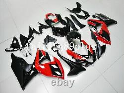 Red Black ABS Plastic Injection Mold Fairing Kit Fit for 2009-2016 GSXR1000