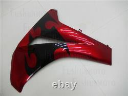 Red Black Fairing Fit for 2008-2011 HONDA CBR 1000RR Plastics Set Injection Mold