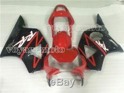 Red Black Injection Mold Fairing Plastic Fit for Honda CBR 954 RR 2002-2003 d#14