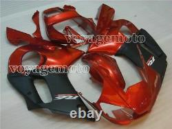 Red Black Injection Molding Plastic Kit Fairing Fit for Yamaha 1998-2002 YZF R6