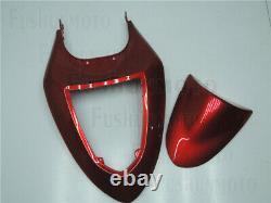 Red Fairing Fit for 05-06 Kawasaki Ninja 636 ZX6R Injection Molding Plastics Set