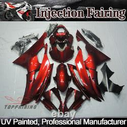 Red Fairing Kit For Yamaha YZF R6 2008-2016 ABS Plastic Injection Mold Bodywork