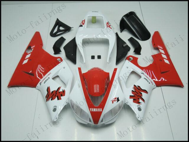 Red White Injection Mold Fairing Fit For Yamaha 1998-1999 Yzf R1 Abs Plastics