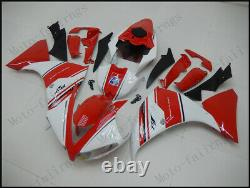 Red White Injection Mold Fairings Fit for Yamaha 2012-2014 YZF1000 R1 Plastics