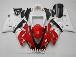 SC Red White Injection Mold Plastic Fairing Fit for Yamaha 1998 1999 YZF R1 j027