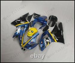 Shark Teeth Injection Mold Fairing Fit for Yamaha 2000-2001 YZF R1 ABS Plastics