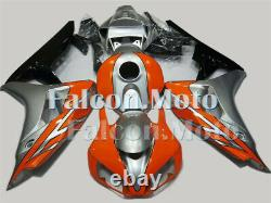 Silver Orange Black Injection Mold ABS Fairing Fit for 06 07 CBR1000RR Plastic