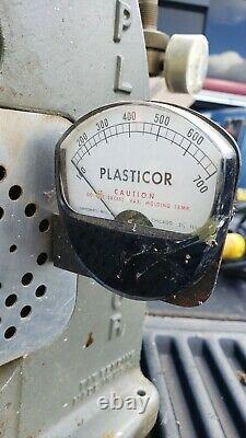 Simplomatic Plasticor PLA63 PLA 63 Plastic Injection Molding Machine