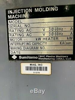 Sumitomo SH80C Plastic Injection Molding Machine