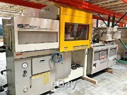Toshiba Model Isf 90p VL / 90 Ton Plastic Injection Molding Machine Ref # Oc2161