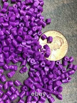 Violet PP Polypropylene Plastic Pellets Resin Material Injection Molding 45 Lbs