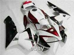 WOO Injection Mold Plastic Fairing Kit Fit for Honda 2005-2006 CBR600RR i005